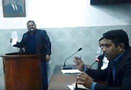 """VEJA VÍDEO: vereadores de Santa Rita entram em debate e Lavam roupa suja em plenário,""""Cheque de aluguel 7 mil sem usar sala"""""""