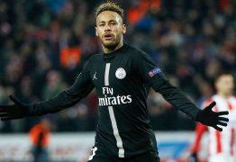 Neymar faz golaço, PSG goleia Estrela Vermelha e avança como líder na Champions League