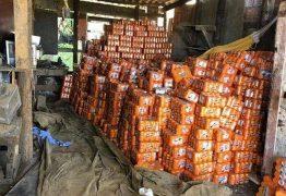AVALIADA EM R$ 90 MIL: carga com bebidas roubada é encontrada em Cabedelo