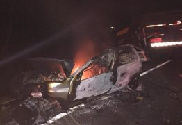 ANIMAL NA PISTA: Acidente com carro, caminhão e motos deixam 4 mortos e 3 feridos no Vale do Piancó