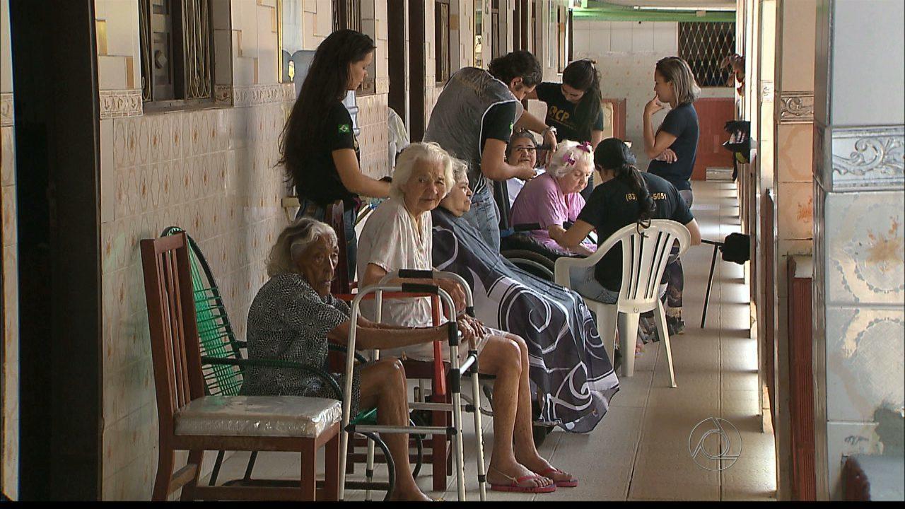 idosos lar abrigo amém - Unimed JP arrecada donativos para ajudar  instituições que cuidam de idosos