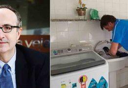 Jornalista diz que Bolsonaro lavando roupa é 'demagogia populista'