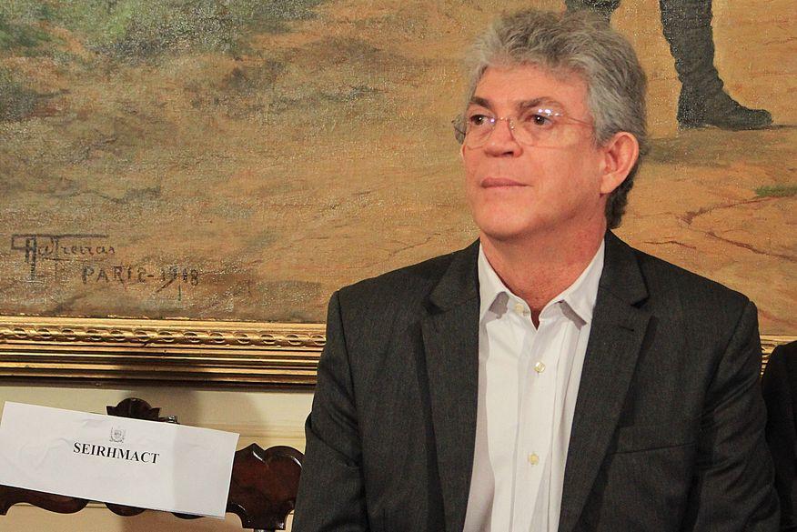 ricardo coutinho nova walla santos - Ricardo Coutinho confirma processo de mudança de João Azevêdo para Granja Santana