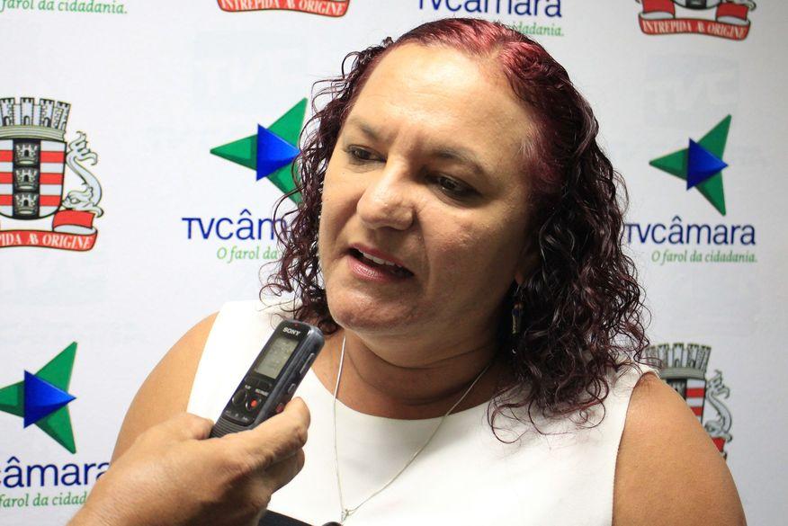 """sandra marrocos walla santos 9 - Vereadora Sandra Marrocos diz que não acompanha João Azevedo: """"Ele deveria ter saído há mais tempo"""""""