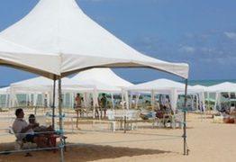 Sedurb cadastra famílias interessadas em instalar tendas na praia durante o Réveillon