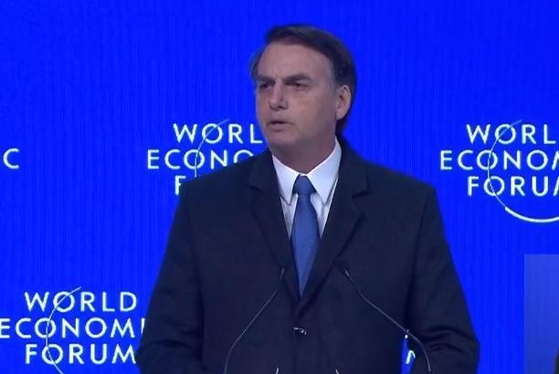 Capturar7852 - Em Davos, Bolsonaro diz que quer compatibilizar preservação ambiental com avanço econômico - VEJA VÍDEO