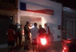 Quadrilha explode agência bancária no Cariri paraibano