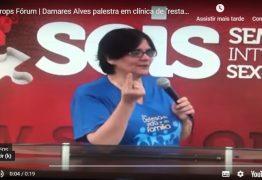 """""""Sexo entre mulher com mulher é aberração"""", diz Damares Alves em clínica de """"cura gay"""""""