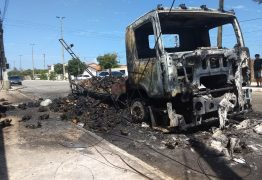 VEJA VÍDEO: Mais de 2000 frangos são queimados vivos em ataque a caminhão no Ceará