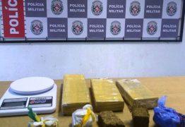 Polícia apreende droga escondida em plantação de bananeira em João Pessoa
