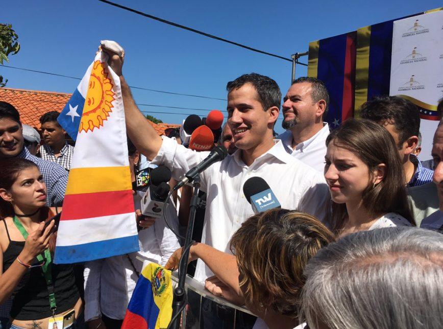 juan guaído oposição venezuela - Após ser preso, líder da oposição venezuelana afirma que se mantém imparável no combate a Maduro