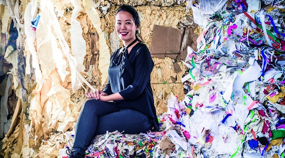 mayura - Empreendedora faz sucesso conectando geradores de resíduos e empresas de reciclagem