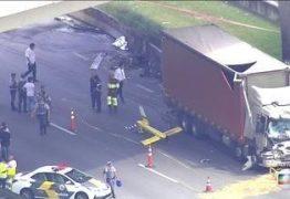 Câmeras de segurança gravam momento exato do acidente de Boechat: VEJA VÍDEO