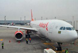 SUSTO: chuva forte faz piloto arremeter aeronave nesta madrugada ao chegar no Castro Pinto