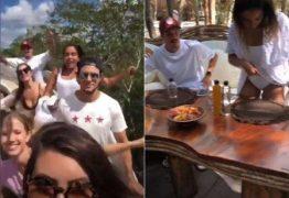 Anitta esconde, mas é flagrada com namorado no México