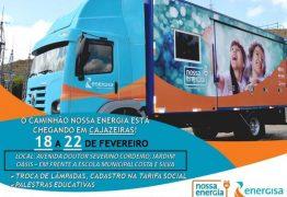 CARAVANA DA VISÃO: parceria da Prefeitura de Cajazeiras e Energisa promove atendimentos à crianças de escolas públicas