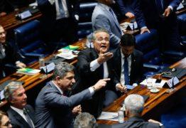Eleição para presidência do senado tem confusão e bate-boca após Casa decidir pelo voto aberto