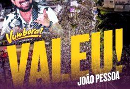 Em João Pessoa, Vumbora tem ingressos esgotados e Bell Marques emociona público de diversas gerações