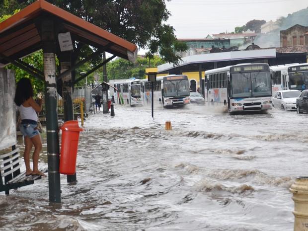 chuva na paraiba - Chove mais de 70 mm em João Pessoa nas últimas 48h, diz Defesa Civil