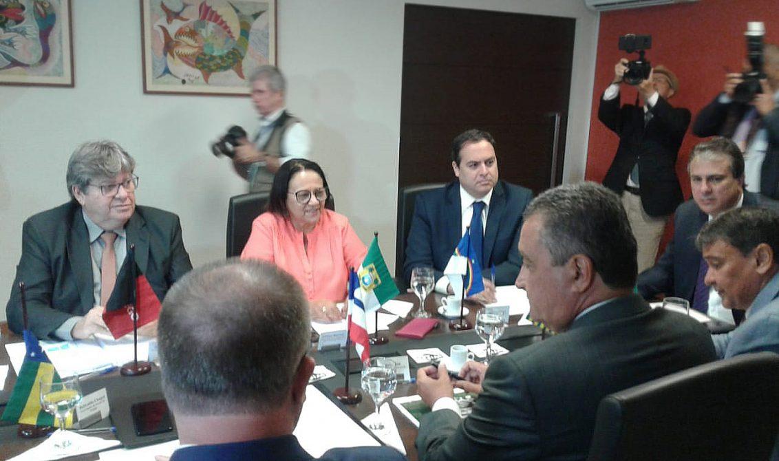 encontro de governadores do nordeste 5e 1132x670 1 - Governadores do Nordeste pedem ao STF que julgue redestribuição dos royalties do petróleo