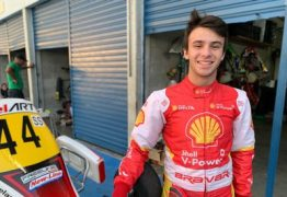Piloto bicampeão brasileiro compete pela primeira vez no Campeonato Paraibano de Kart