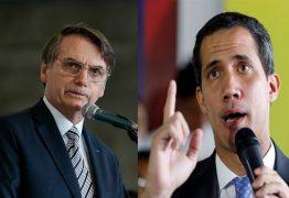 Bolsonaro e Guaidó reúnem-se no Palácio do Planalto, mas sem formalidades