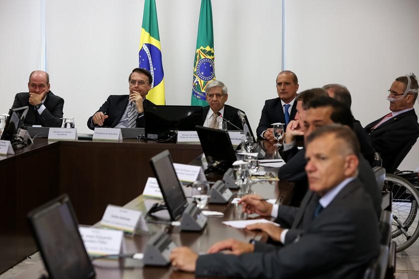 Bolsonaro Venezuela - Bolsonaro manda confiscar celulares em reuniões