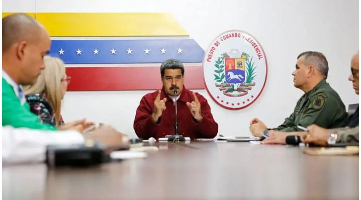 Capturar 21 - Bolsonaro não descarta opção militar contra Maduro na Venezuela