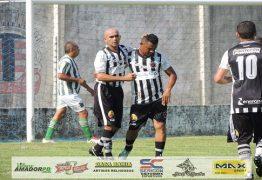 Maia faz 5 gols e garante vitória do Botafogo Master na abertura do Campeonato Quarentão de Mangabeira
