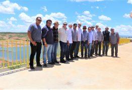 Deputados constatam que as águas da Transposição pelo   Eixo Norte só chegarão à Paraíba em meados de 2020
