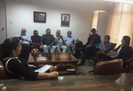PROGRAMA GOL DE PLACA: Adriano Galdino recebe representantes de times paraibanos na ALPB