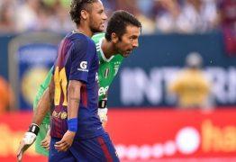 Neymar e Buffon são alvos da imprensa após eliminação do PSG na Champions