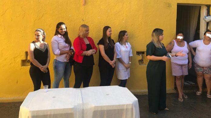 cadeia3 1 696x389 - Secretaria das Mulheres realiza evento no presídio feminino de Cajazeiras com sucesso