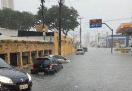 Paraíba recebe alerta de chuvas com perigo potencial em 219 cidades
