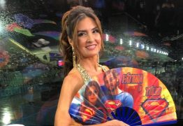 Fátima Bernardes chama atenção de internautas durante transmissão de desfiles