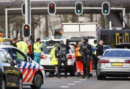 ALERTA MÁXIMO: Ataque a tiros deixa um morto e feridos em Utrecht, na Holanda