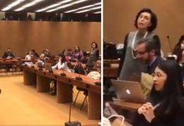 Embaixadora de Bolsonaro agride Jean Wyllys na ONU