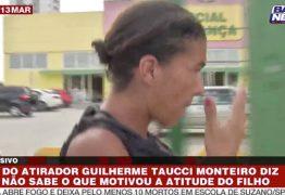 Mãe de um dos atiradores diz que filho parou de estudar por causa de bullying