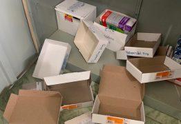 FALTA SEGURANÇA: Unidade de Saúde é arrombada e tem medicamentos roubados