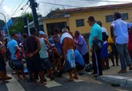 Mulher morre em acidente entre moto e ônibus em Cruz das Armas; Sintur-JP lamenta ocorrido