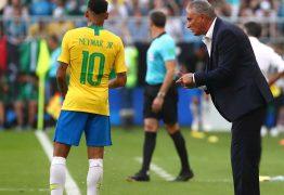 Tite conversou e 'enquadrou' Neymar na seleção após a Copa do Mundo