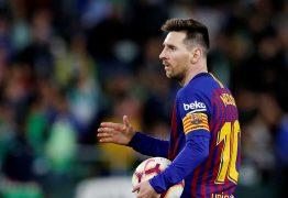 Valverde revela que Messi sofre com lesão 'desde antes do Natal'