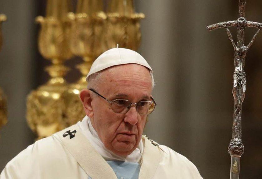 papa 840x577 - MATURANDO A IDEIA: Papa Francisco decide não abordar mais tema de 'padres casados' para o Brasil - ENTENDA