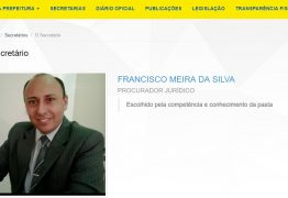 Procurador-geral organiza concurso público e disputa vaga de procurador na Prefeitura de Lucena
