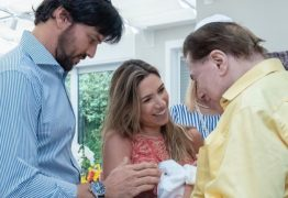 Filho recém-nascido de Patrícia Abravanel é circuncidado ao lado do avô Silvio Santos