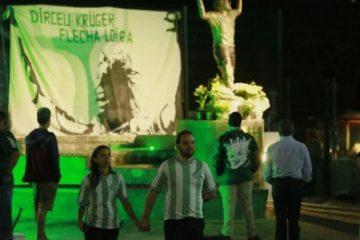 DIRCEU VELORIO 360x240 - Velório de ídolo do futebol reúne torcedores, familiares e amigos, no Paraná