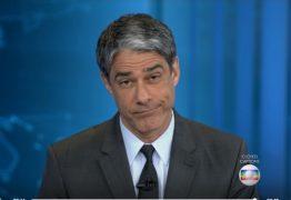 Globo prepara-se para renegociar salário de William Bonner