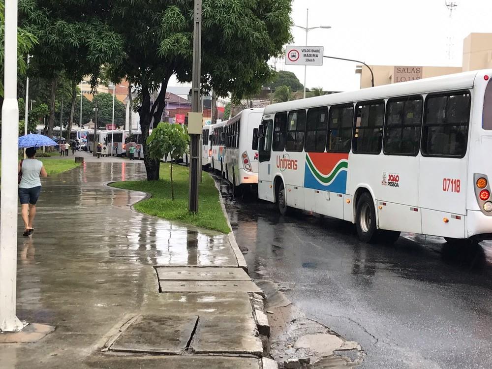 acidente onibus lagoa - Sintur-JP anuncia retorno dos ônibus com circulação normalizada