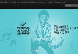 Festival de Música da Paraíba 2019 divulga ordem de apresentação das 30 canções selecionadas