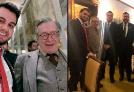 Assessor especial de Bolsonaro sai em defesa de Olavo de Carvalho e o compara a Silvio Santos